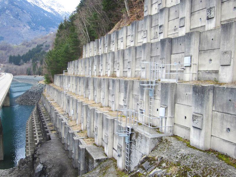 Barrage EDF - installation Vertic