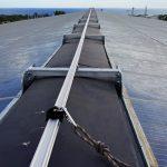 Installation d'un ALTIRAIL sur toiture panneaux photovoltaïques