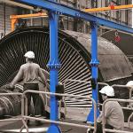 Installation d'un ALTIRAIL sur portique pour maintenance des machines - EDF