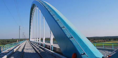 Ponts - Système rail antichute incliné COMBIRAIL
