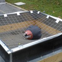 Protocole d'essai de la grille antichute pour lanterneaux ALTIGRID VERTIC