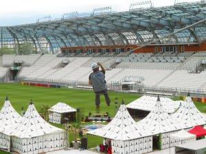 Grande Stade Lyon - Ligne de vie horizontale BATILIGNE VERTIC