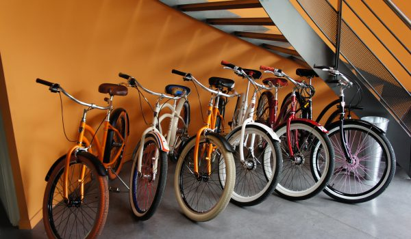 VERTIC met à disposition de ses employés des vélos pour rouler écologique !