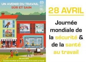 28 avril journée mondiale santé sécurité au travail
